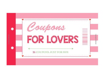 Coupons for Lovers (25 High Quality Color Coupons)