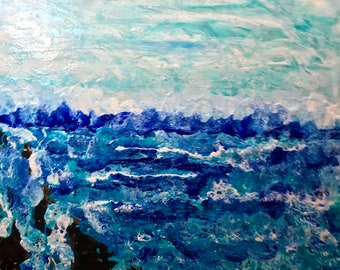 Choppy Sea,Windy Waves