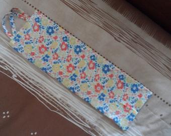 Bread, cotton, reversible bag, floral