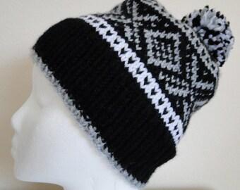 Knit Fair Isle Hat