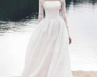 Long sleeve bolero/jacket made from French laces romantic bolero.