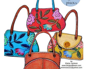 13 More paper doll purses, printable paper doll accessories