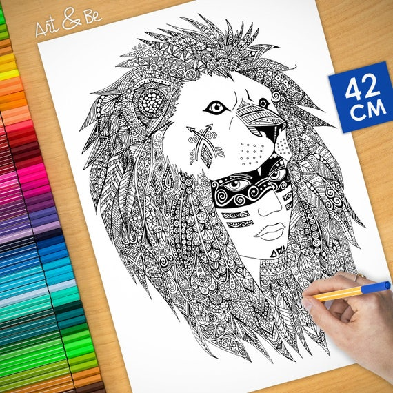 COLORING Poster - Wild in...