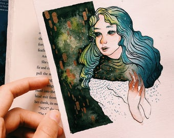 original watercolor illustration • warm , real and bright
