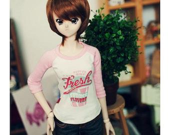 SD13 Girl/DD Icream Tshirt -  Pink