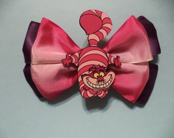 Alice in wonderland Cheshire Cat /  Hair Bow