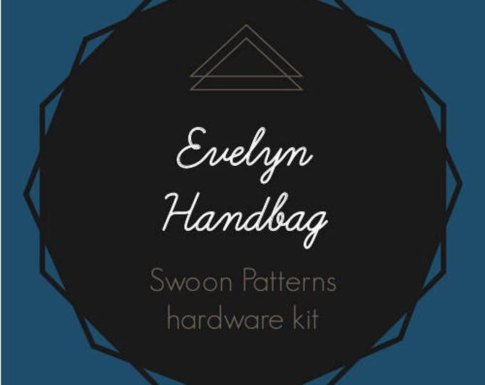 Evelyn Handbag - Swoon Hardware Kit - Rectangle Rings