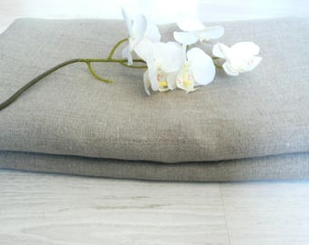 Linen fabric un-dyed, by the meter, 100% natural, eco friendly, softened and ECO certified, yardage