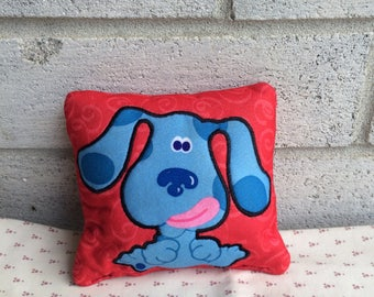 Blues Clues doll pillow, Blues Clues small pillow, doll pillow, Blues clues toy pillow