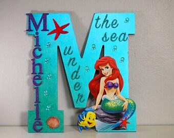 Custom Princess Letter, Ariel Letter, Moana Letter, The Little Mermaid, Disney Letters, Character Letters