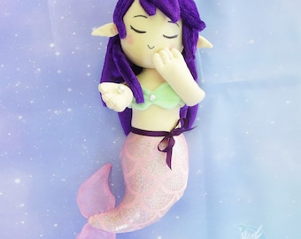 Mermaid Plush Doll | Mermaid Plushie Kawaii Doll