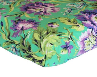 Love Bliss Emerald Purple | Fitted Crib Sheet