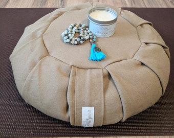Yoga Meditation Gift Set Includes Meditation Cushion Candle Mala