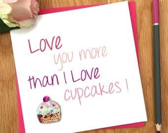 Valentine's Card For Girlfriend And Boyfriend