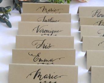 Invitations Et Papeterie De Mariage Etsy FR - Porte nom mariage