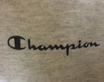 Vintage champion sweatshirt hip hop swag nice condition..size xl