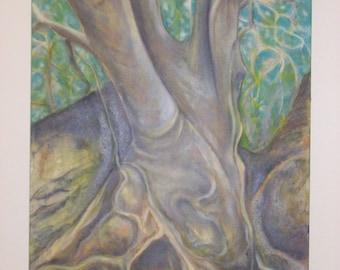 Caleum Arbor, 30''x40'', Original Oil on Canvas