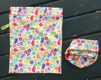 Wet and Dry Baby Bag and Swim Diaper Set