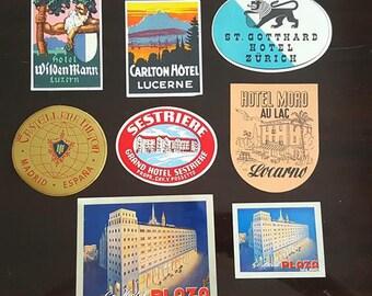 Vintage hotel sticks
