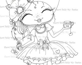 INSTANT DOWNLOAD Digital Digi Stamps My Besties TM Big Eye Big Head Dolls 79 Fancy Pants 6 By Sherri Baldy