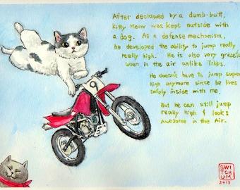 Jump Kitty Meow