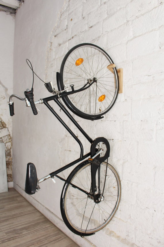 tokyo bike rack fahrrad wandhalterung holz wandhaken. Black Bedroom Furniture Sets. Home Design Ideas