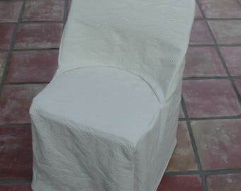 Fitted Slipcover, Folding Chair Cover, Beige Slipcover, White Slipcovers, Custom Slipcover Sets, Patio Chair Covers, White Chair Covers