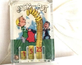 Crackerjacks pinball Jackpot toy prize