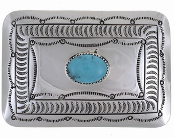 Turquoise Belt Buckle Best Selling Navajo Accessory