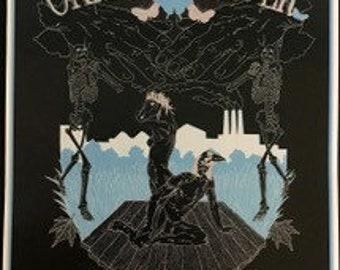 Okkervil River 1st Run Original Concert Poster Hollywood CA