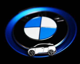 BMW i3 Hard Enamel Pin