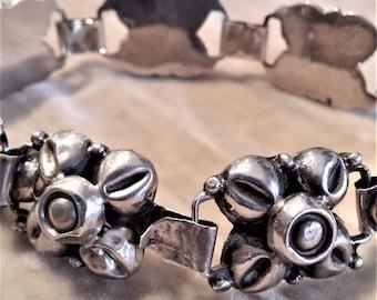Sterling Silver Blossom Bracelet