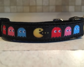 Pac Man Fever Extra Small Dog Collar