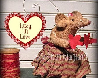 Lucy in Love Mouse E-Pattern