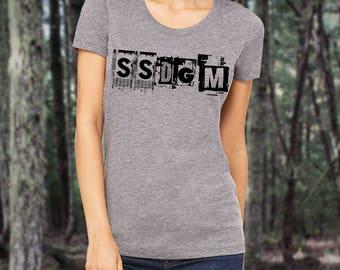 SSDGM Ladies' short sleeve t-shirt Murderino My Favorite Murder Stay Sexy Don't Get Murdered