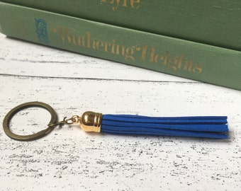 Tassel key fob, tassle key chain, tassel key ring, tassel key chain, tassel keychain, bestman gift, keychain tassel,  nautical keychain