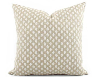 Sahara Beige Decorative Pillow Cover, Cream Throw Pillow, 18x18, 20x20, 22x22 Euro or Lumbar Pillow, Beige and Cream Pillow, Accent Pillow