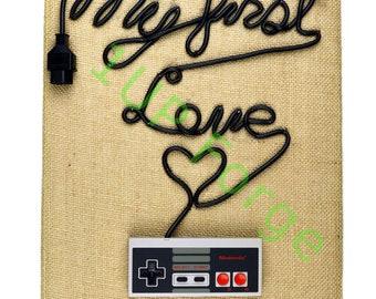 NES Nintendo Canvas Art - My First Love Canvas Print - Video Game Art