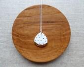 Polka Dot Rain Drop Neckl...