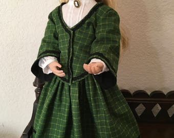 1800's Style Outfit for 16 inch Doll