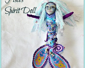Pisces Spirit Doll