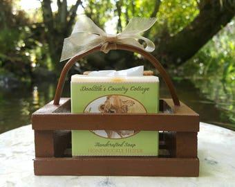 Soap - Farm Crate Soap - 2 Bars, Farm Animal Soap, Old-fashioned Soap, Cold Process Soap, Animal-themed Soap, Gift Set, Gift Soap