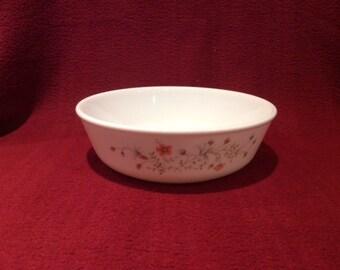 """Pyrex Emily Spring Garden Cereal Bowl 6"""" circa 1980"""