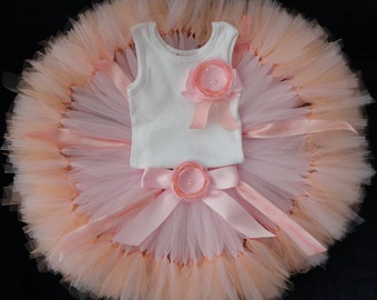 Birthday Outfit | Pink Birthday Dress for Baby Girls | Pink Birthday Tutu | Pink Tutu