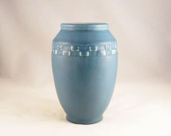 Rookwood 1928 Blue Vase 2284