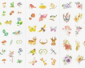 Planner Sticker - Flower/Animal/Plants