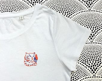 Ice Cream Tiger T-shirt