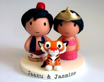 Aladdin wedding topper