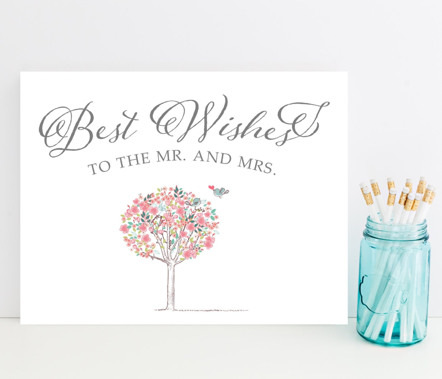 Best wishes card wedding day card sweet card for bride and for Best day for a wedding