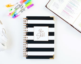 Be Still Journal- Stripe